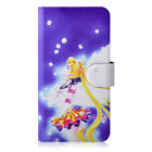 Sailor Moon Crystal PU Leather Flip Case Cover For iphone #37