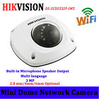 Hikvision DS-2CD2532F-IWS 3MP POE MIC WiFi IR IP66 Network Dome Camera