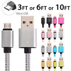 Внешний вид - Micro USB Fast Charger Data Sync Cable Braided Cord for Samsung Android