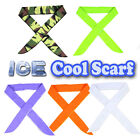 10Pcs Ice Cooling Towel Headband Neck Cooler Scarf Thigh Arm Wrist Band