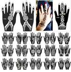 India Henna Temporary Tattoo Stencils For Hand Leg Arm Feet Body Art Decal New