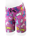Childs Bike Shorts Kids Biking Padded Youth Short Childrens Pink Cats Dogs