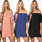 Summer Sexy Off Shoulder Womens Party Dress Evening Cocktail Casual Mini Dress