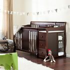 Crib Changing Table Set Infant Baby Nursery Furniture Multiple Configurations