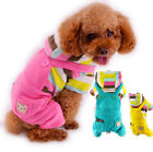Winter Warm Teddy Dog Jumpsuit Pet Overalls Clothing for Small Pets Cat Outfit