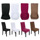 2/4/6Pcs Slip Cover Spandex Removable Stretch Slipcovers Dining Lycra Chair Seat