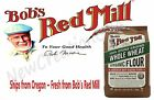 Bob's Red Mill Organic Whole Wheat Flour 3 LB Bag 100% Stone Ground