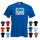'This is What an Awesome Girl guide leader Looks Like' Mens / Unisex t-shirt