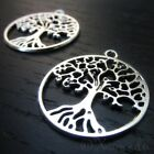 Tree Of Life Pendant - Wholesale Antiqued Silver Findings C6426 - 5, 10, 20PCs