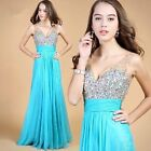 2016 Wedding Bridesmaid Womens Formal/Evening/Ball Gown/Party/Prom/Long Dresses