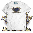 BORN TO RIDE Birthday Gift Funny T-Shirt Custom ANY YEAR Vintage Motorcycle