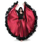 Professional Belly Dance Costume Waves Skirt Dress 25 yard Big Skirt Bollywood