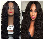 """18"""" Curly Wave 100% Brazilian Human Hair Lace wig Full lace/Lace front wigs"""