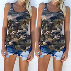 Sexy Women Summer Vest Top Sleeveless Shirt Blouse Casual Tank Tops T-Shirt HF