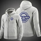 Ghost in the Shell Laughing Face Sweater Animation Clothes Jacket Zipper Smile