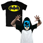 Batman logo T-shirt / costume printed inside as well genuine official Australian