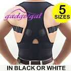 Fully Adjustable Shoulder Back Support Posture Corrector Vest Brace