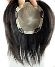 """5.1''x5.5"""" 100% Remy Human Hair Clip In Hair Topper Haireason toupee For Women"""