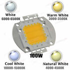 High Power LED Chip 100W COB Beads Warm Cool Natural White lamp SMD light 6500K