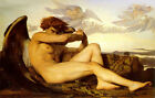 Classic Italian Realism Religioius Art Print:  Fallen Angel by Alexandre Cabanel
