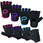 Weight Lifting Gloves Ladies Training Body Building Gym Straps Womens NEOPRENE