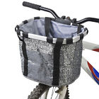 Bicycle Basket Removable Dog Carrier Bag Pet Accessory