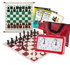 USCF Sales Scholastic Chess Club Starter Kit - For 20 Members - With Quartz Ches
