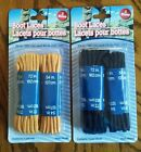 "Timberland Boot Laces X2 Work Shoe Laces Nylon Boot Laces Black Browm 72"" & 54"""