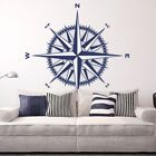Compass Rose Vinyl Wall/Ceiling Decal - fits nursery living room + more K649