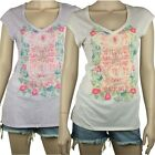 BILLABONG Ladies VINTAGE T Shirt Top Tee (14) NEW