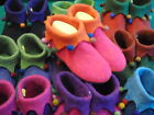 "Hand-made woollen Felt slippers ""SLOOPERS"" size 43-UK 9"