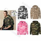 Code Five Camo Hoodie Camouflage Hooded Sweatshirt S-3XL 4 Camo Patterns NEW