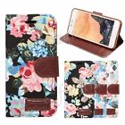 Flower Matte Printing Wallet PU Leather Case Cover Shell Skin For iPhone 7 4.7''