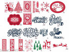 NEW - CREATIVE EXPRESSIONS - SUE WILSON CHRISTMAS DIES - FESTIVE COLLECTION 2015