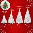 Artificial Christmas Tree 5-7.5ft Spruce with Metal Stand Folding Realistic PINE