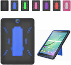2Layer Armor Case Cover w/2Way Stand For Alcatel OneTouch Pop 7 LTE 9015W Tablet