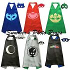 PJ Mask & Villains Mask and Cape Party Superhero Capes Christmas Stocking SOLID
