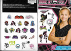 MOSTER HIGH 75 TEMPORARY TATTOOS PARTY FAVOR NEW FAST FREE SHIPPING