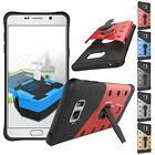 Shockproof Hybrid Rubber Kickstand Hard Case Cover For Samsung Galaxy Note 7 5