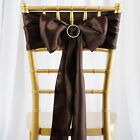 200 x WHOLESALE Lot Satin CHAIR SASHES Ties Bows Wedding Party Decorations SALE