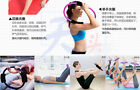 Oculus Fitness Circle Yoga Pilates Fitness Band Dual grip resistance training