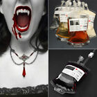 10pc Reusable Blood Energy Drink Bag Halloween Pouch Props Cosplay Vampire 350ML