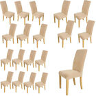 Elegant Dining Chair Covers 1 4 6 8 Pcs Washable Stretch Protector Removable New