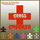 Crosschecker **Hockeyplayer** Car Decal