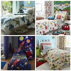 Catherine Lansfield Boys Kids Duvet Quilt Cover Sets Single or Double Bed