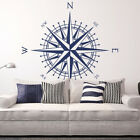 Compass Rose Vinyl Wall or Ceiling Decal - fits nursery, family room + more K651