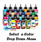 Starbrite Tattoo Ink Authentic Colors 1/2oz Bottles