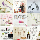 NEW DIY PVC Wall Stickers Waterproof Removable Art Photo Frame Cute Home Decor