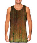 "Yizzam - Klimt - ""Pine Forest II""- New Men Tank Top Tee Shirt"