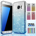 Bling Crystal Defender Slim Armor Hard Case Cover For Samsung Galaxy S7/S7 Edge